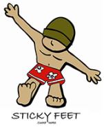 Sticky Feet